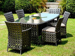 Bryan Dining Set (Bronzium Color)