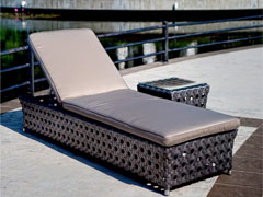 Bryan Bronzium Lounger & Table
